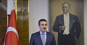 """Gümrük Bakanı Tüfenkci'den """"Cumhuriyet Bayramı"""" mesajı"""