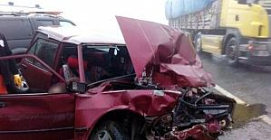 Gümüşhanede trafik kazası: 2...