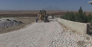 Haliliye Belediyesinden yol yapım çalışması