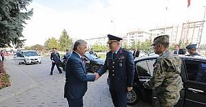 Hava Kuvvetleri Komutanı Ünal, Başkan Çelik'i ziyaret etti