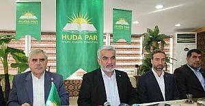 HÜDA-PAR Genel Başkanı Yapıcıoğlu Elazığ'da