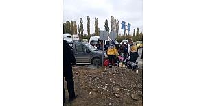 Iğdırda trafik kazası: 1 ölü,...