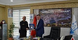 İl Emniyet Müdürü Yardımcısı Ormancıoğlu'ndan Başkan Duymuş'a ziyaret