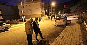 Kalıcı asfalt uygulamalarında gece mesaisi
