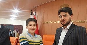 Karaman'da Kent Konseyi Çocuk Meclisi Başkanlığı'na Kazan seçildi