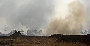 Koalisyon uçakları Başika yakınındaki köyleri bombalıyor