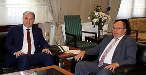 Kosova'lı Türk vekilden Vali Çiçek'e ziyaret