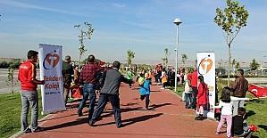 Küçük öğrencilerden 'Atatürk'ün İzinde Cumhuriyet' Koşusu