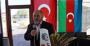 Lapseki Azerbaycan evi olağan genel kurulu yapıldı