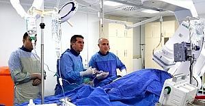 MEÜ Tıp Fakültesi Hastanesi'nde Koroner Anjiyografi Ünitesi açıldı