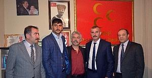 MHP Pasinler İlçe Başkanlığına Günaştı getirildi.