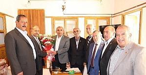 Muhtarlar, Başkan Kara'yı ziyaret etti