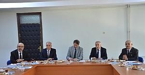 Niksar'da İlçe Milli Eğitim Müdürleri Toplantısı