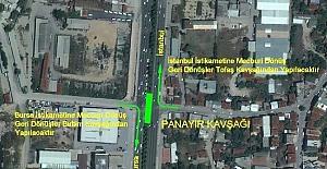 Panayır Kavşağı'nda trafik düzenlemesi