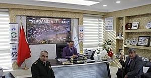Paşalardan Vezirhan'a ziyaret