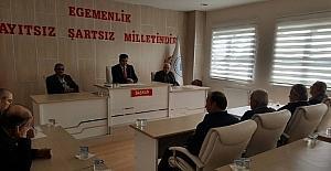 Pazaryeri Belediye Meclisi olağanüstü toplandı
