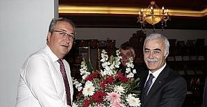 PTT Başmüdürü Uğurtepe, Belediye Başkanı Ünver'i ziyaret etti