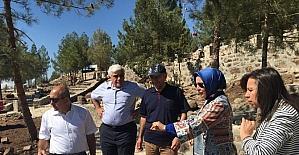 Resul Osman Dağı alanında inşaat çalışmaları başladı