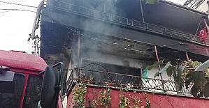Sakarya'da bina yangını