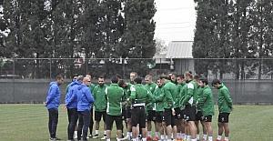 Sakaryaspor, Denizli Büyükşehir Belediyespor maçı hazırlıklarına başladı
