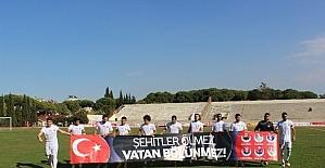Salihli Belediyespor'dan gollü başlangıç