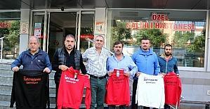 Salihli'de amatör takımlara destek