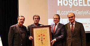 """SAÜ'de """"Lozan'dan geriye kalmayanlar"""" isimli konferans gerçekleşti"""