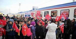 Tekden Cumhuriyet Eğitim Treni Sivasa...
