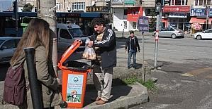 Trabzon'da sekiz ton bayat ekmek hayvanlara yem oldu