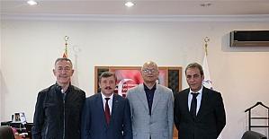 Türkiye Bisiklet Federasyonu başkan aday Erol Küçükbakırcı Yalova'da