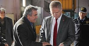 Vali Gül, Organize Sanayi Bölgesini ziyaret etti