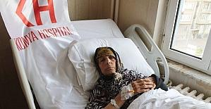Yaşlı kadının kırılan omzu protez takılarak düzeltildi