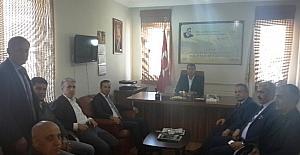 Yeni Malatyaspor yönetiminden Ziraat Mühendisleri Odasına ziyaret