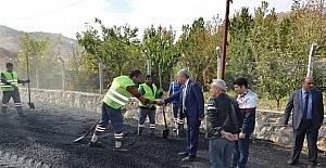 Yeşilyurt Belediyesi kış ayı gelmeden asfaltlama çalışmalarına hız verdi