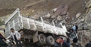 Yüksekova'da trafik kazası: 1 ölü