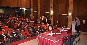 Iğdir'da 'kadına yönelik şiddet' konulu konferans