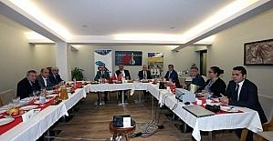 OKA ve YHKB toplantıları Amasya'da yapıldı