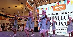 7. Rus ve Türk Dostluk Festivali sona erdi