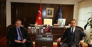 AB Bakanı Çelik, AB Türkiye Delegasyonu Başkanı Berger'i kabul etti