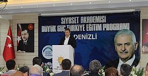 AK Parti Denizli Siyaset Akademisi final yapıyor