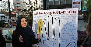 AK Partili Gençler'den İnsan Hakları Günü'nde farklı etkinlik