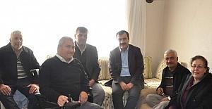 AK Part'li vekil Mehmet Erdem, engelli vatandaşı sevindirdi