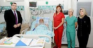 Aksaray'da bypass ameliyatında dışa bağımlılık bitti