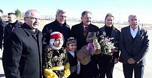 Bakan Özhaseki ve Başkan Karaosmanoğlu, Mardin'de temaslarda bulundu