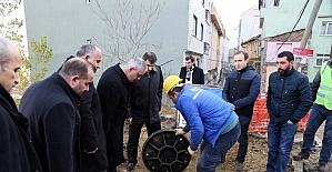 Başkan Aydın'dan su baskınına modern çözüm