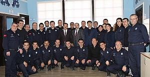 Başkan Cahan, Zabıta personeli ile bir araya geldi