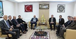 Başkan Çoban'dan, Başkan Konak'a ziyaret