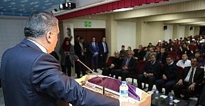 Başkan Gürkan kariyer günlerine katıldı