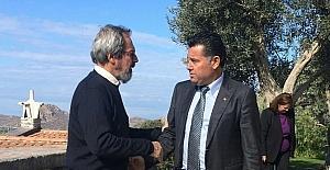 Başkan Kocadon'dan Tasarım Vakfı'na ziyaret
