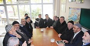 Başkan Köşker, Arapçeşme Caminde cemaatle sohbet etti